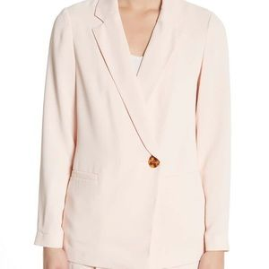 NEW TOPSHOP soft knit jacket blazer